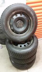 (H136) Pneus Hiver - Winter Tires 235-65-17 GT Radial 7/32