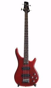 Bass Guitar Brand New Red Deviser iMEB263 Full size iMusicGuitar