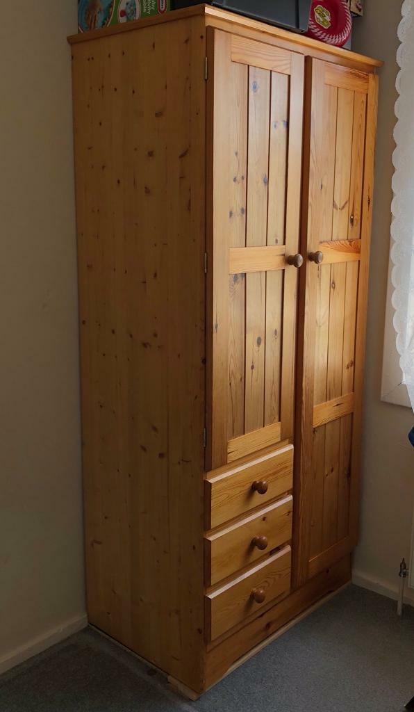 Tall Wardrobe Closet With Drawers And Shelves Large Units Childrens