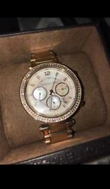 Michael Kors Rose Gold Watch, Barely Used