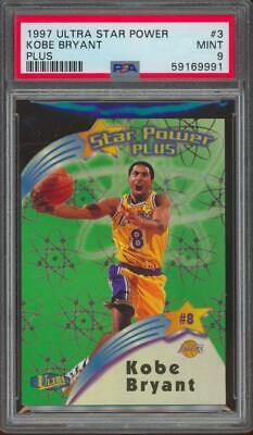 1997 Ultra Star Power Plus #3 Kobe Bryant Case Hit Mint PSA 9