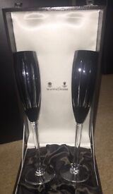 Mappin & Webb champagne glasses