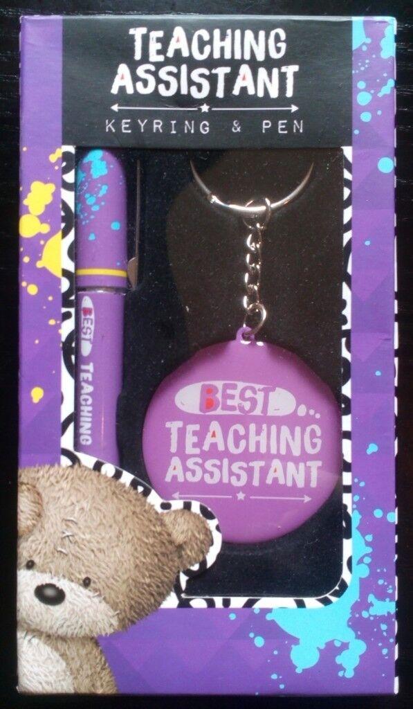 'Teaching Assistant' Keyring & Pen Set (new) | in Reading, Berkshire |  Gumtree