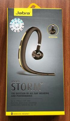 New Jabra Storm  Plus Bluetooth Headset HD Voice NFC Wind Noise Reduction