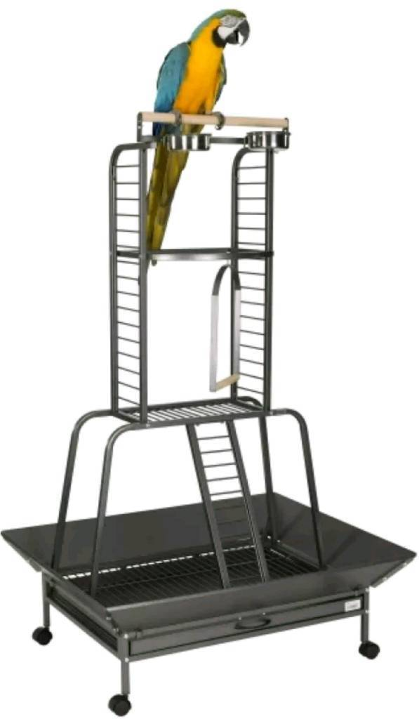 Liberta turret parrot play stand