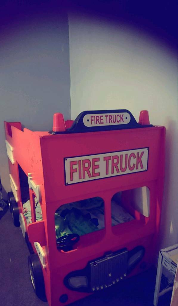 Fire Engine Bunk Bed 250 In Stanley County Durham Gumtree
