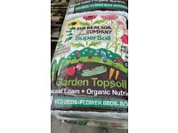 New Bags Of Topsoil Organic Nutrients & Natural Loam