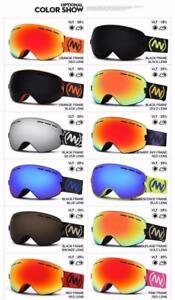 I NEED THAT !!!! NANDN brand ski goggles double UV400 anti-fog