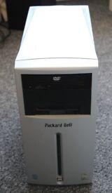 Packard Bell iMedia Desktop Windows XP Computer.