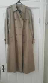 Burberry Raincoats x Two 12 & 14