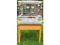 "Bird Cage ""Vision Home for Birds"" (Medium) 60.9 x 38.1 x 52 cm, with Stand"