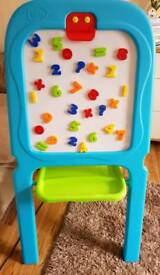 Kids Chad Valley Double Sided Easel