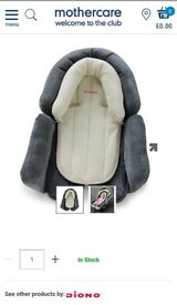Diono baby cuddle body and head support