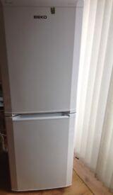 Beko white fridge/ freezer