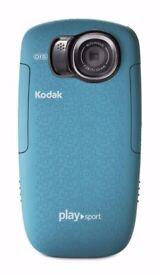Kodak Playsport Zx5 waterproof video camera