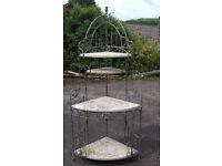 Corner outdoor/patio/garden stand