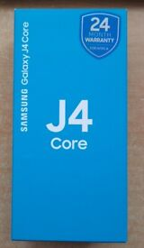 """Samsung Galaxy J4 Core, 16GB/1GB/6"""", Dual sim, Brand NEW, Boxed, Unlocked"""