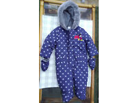 Snow suit for 6 to 9 months baby