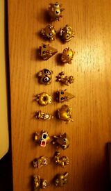 Collectible Rare Moshi monster gold figures