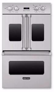 30'' Double Wall Oven with French doors by Brigade, Stainless