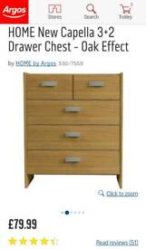 CHEST OF DRAWERS WITH 2 MATCHING BEDSIDE TABLES still available