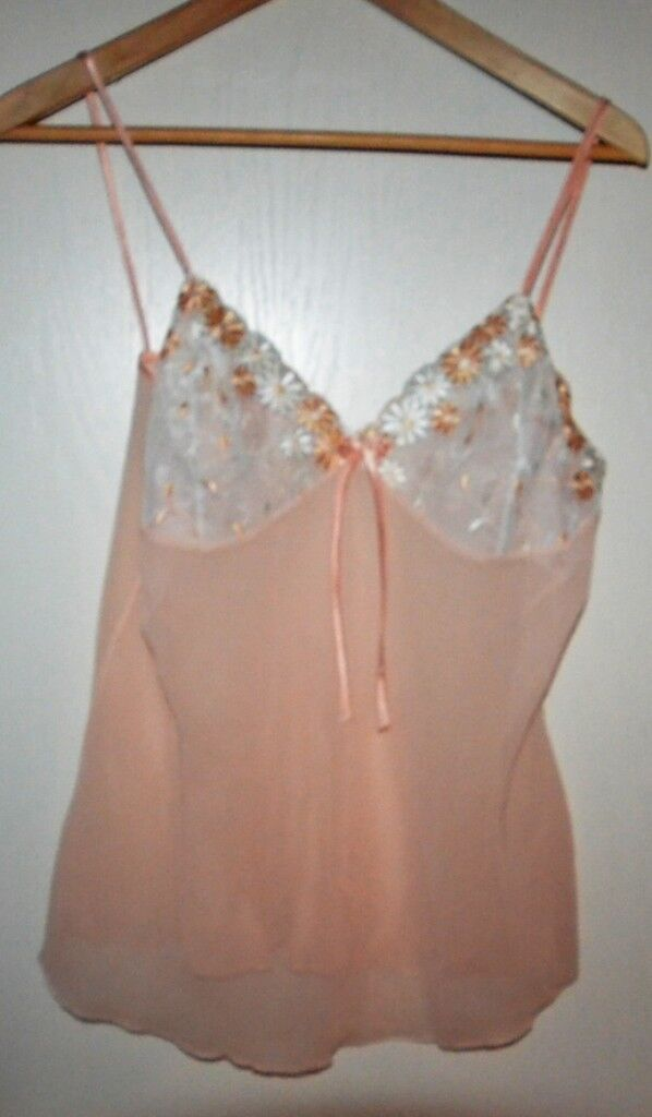 Nylon-Top, 100% Polyester, Gr. L,zartes rosa, Damenunterwäsche ></noscript> Unterröcke