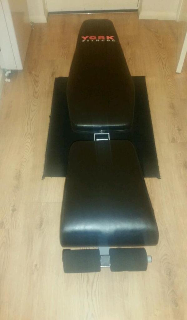 york fitness 13 in 1 incline flat buy sale and trade ads