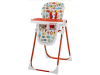 Cosatto Noodle Supa Highchair Excellent Condition