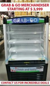 Open Merchandiser, Grab & Go, Refrigerated Cases, Pastry Case, Merchandiser, Fridge, Refrigeration  Amazing Prices,