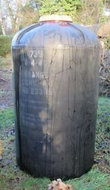Very Large Water Tank Water Butt - Approx 330 Gallons / 1500 Litres - Rainwater or Grey Water Store