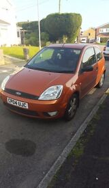 Ford Fiesta Flame, SORN, LOW MILAGE, NEED TO GET RID.