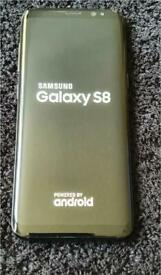 Samsung Galaxy S8 unlocked 64gb midnight black