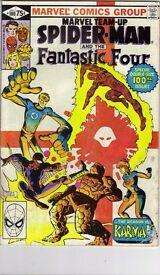 DC & MARVEL COMIC BOOKS