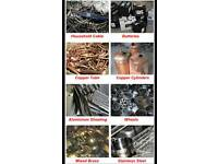 WANTED METALS & CARS FOR CASH!!!