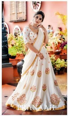 Indian Party Wear Lehenga Lengha Choli Bollywood Wedding Saree Pakistani Lehenga