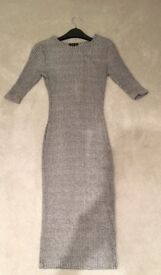 River island long grey dress