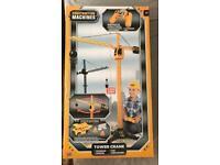 Brand New- Remote control construction machines tower crane