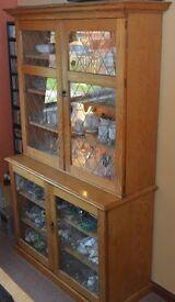 Solid Pine Large Display Unit / Welsh Dresser