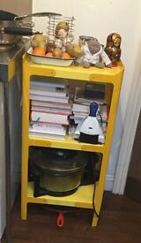 Yellow Tolix shelf - good condition - £40