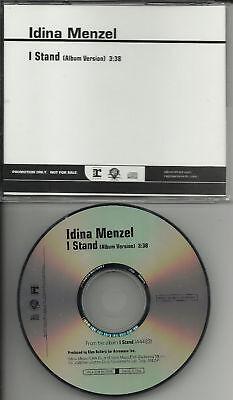Rent   Wicked Singer Idina Menzel I Stand Promo Dj Cd