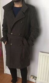 Men's winter Coat, Size S, next to new, Balmain/ military Style, from Topmen, original price 89,99
