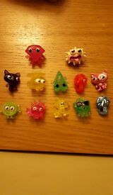 Moshi Collectible figures -Rare