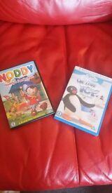 Noddy and Pingu DVDs