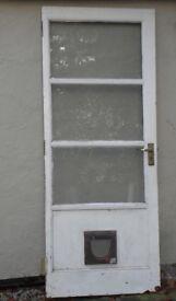 Back Door (Wood) 790mm x 1965mm + Door Frame