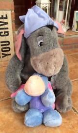2 Genuine Disney Eeyore Soft Teddies