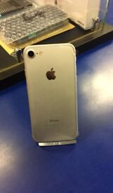 iPhone 7 32gb Silver Unlocked Brand New Apple Warranty