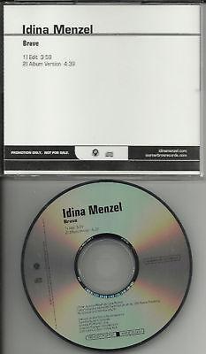 Rent   Wicked Singer Idina Menzel Brave Edit Promo Dj Cd Single