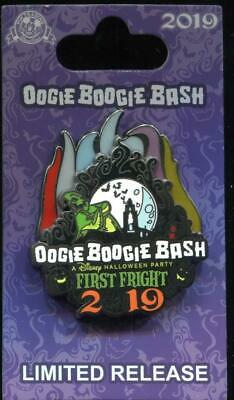 Oogie Boogie Bash 2019 First Fright Disney Pin Oogie Boogie Pin