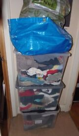 MASSIVE JOB LOT OF ITEMS, CLOTHING, ACCESSORIES, FOOTWEAR, IDEAL FOR CARBOOT, RE-SELL .**REDUCED**