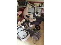 Tako pushchair 3 in 1. good condition